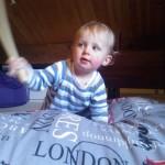 It's a drumstick, Dad!